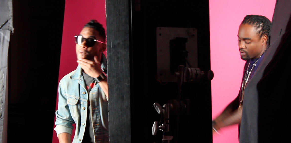 Bts photos for wale miguels lotus flower bomb this time from wales lotus flower bomb feat miguel video shoot bre scullark from americas next top model cycle five is in the video also mightylinksfo