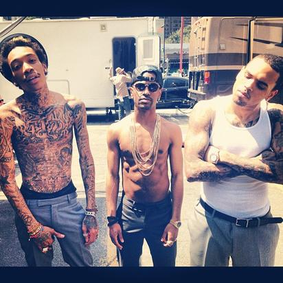Bts Photos Video Shoot For Chris Brown S Quot Til I Die Quot With