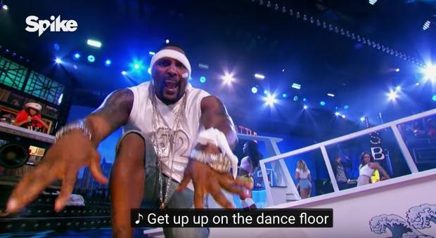 ray lewis channels nelly for his quotlip sync battlequot performance