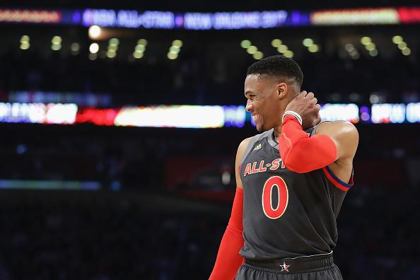 Russell Westbrook Shares First Photo Of His Son Noah