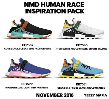 Pharrell x Adidas NMD Hu  New Colorways Coming This Fall 388f83a3a