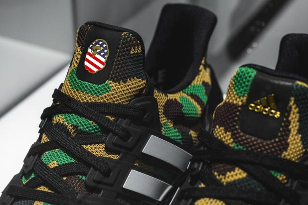 promo code 7a059 02c95 Back in 2016, BAPE and Adidas teamed up for a pair of special edition Adidas  NMD R1 colorways, both of which featured BAPE s unmistakeable camo motif.