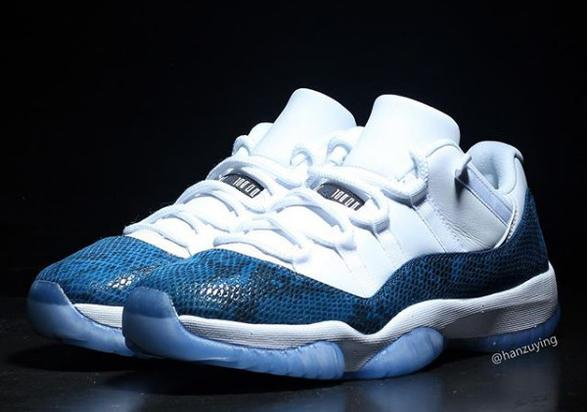 "Air Jordan 11 Low ""Snakeskin"" Release Details Revealed  New Images fbbdb384e"