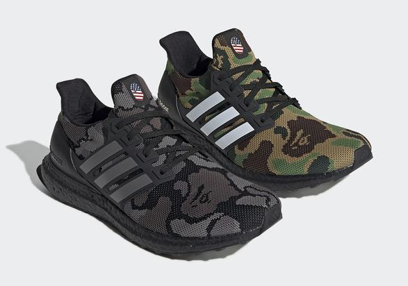 d89c5a08a81774 Bape X Adidas UltraBoost Official Images Revealed