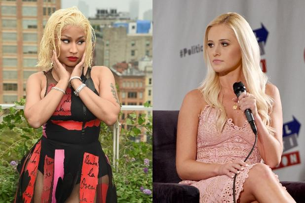 Nicki Minaj And Tomi Lahren Exchange Over 21 Wild Hot Shots Newsbeezer Search, discover and share your favorite tomi lahren gifs. nicki minaj and tomi lahren exchange