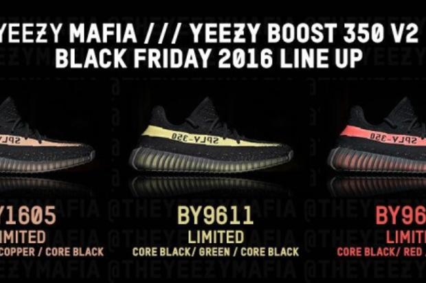 outlet store 05d9f bcc75 Three New Adidas Yeezy Boost 350 V2s Rumored For Black ...