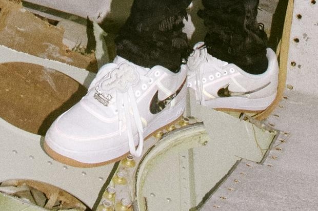 best sneakers 4c071 64ab2 Travis Scott x Nike Air Force 1 Release Details Announced ...