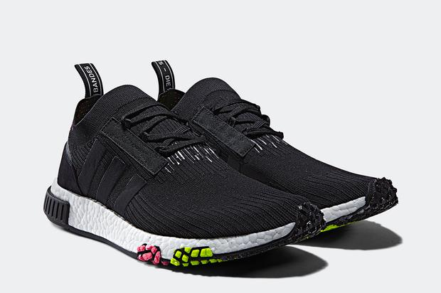 The new Adidas NMD silhouette drops in early 2018. https   www.hotnewhiphop .com adidas-debuts-the-nmd-racer-as-part-of-urban-racing-pack-news.41413.html  ... e4a19dd06
