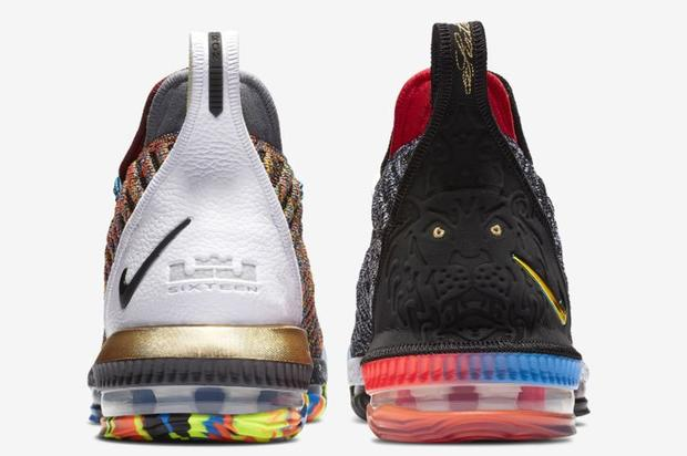 new product eaeb7 8e89d Nike LeBron 16 What The (1 Thru 5) Mens 10 Limited Edition
