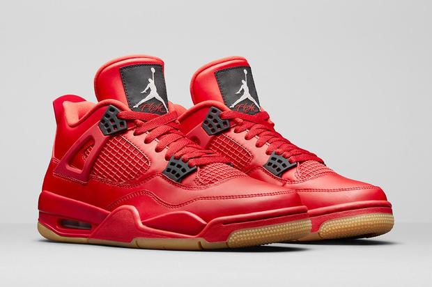 Hidden details on this all-new fire red AJ4. https   www.hotnewhiphop .com air-jordan-4-singles-day-releasing-this-weekend-news.64232.html 505093eb6