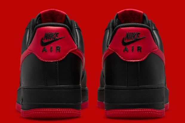 "Nike Air Force 1 Low ""Bred"" Coming Soon: Official Photos"