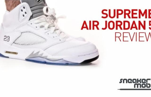 How To Make Your Own Supreme Air Jordan 5 2982fab90