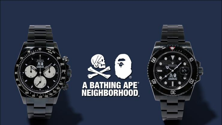 Get A Closer Look At Bape S 30 000 Rolex Watch