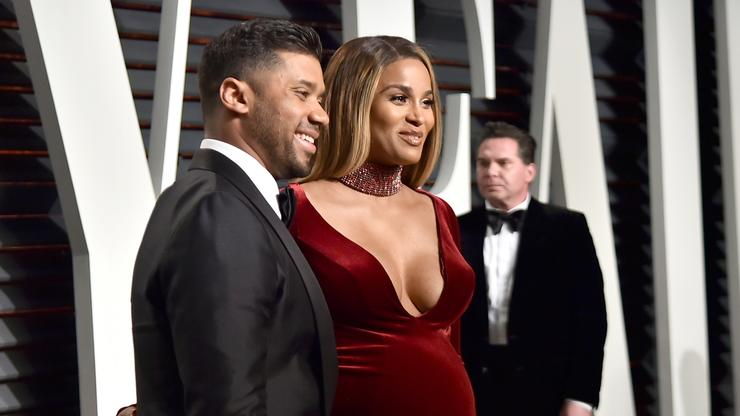 Ciara Posts Semi-Nude Maternity Photo With Russell Wilson