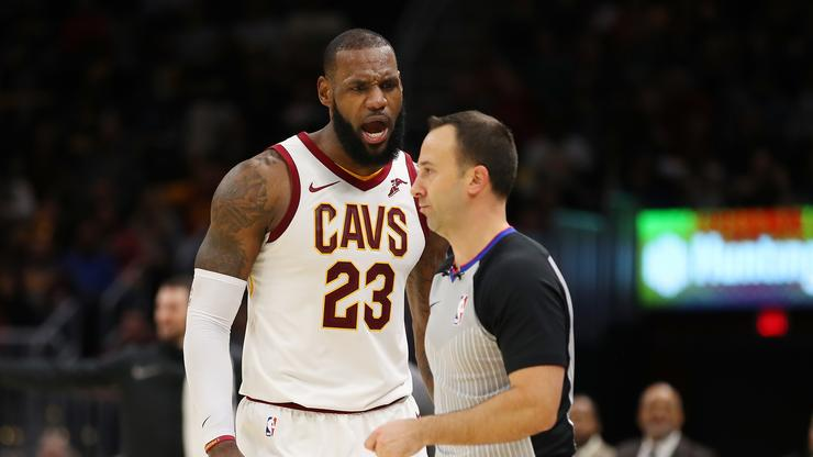 63076cb2e LeBron James Ejected For First Time In His NBA Career