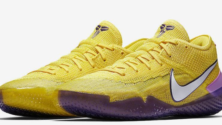 "d679acfe327d Nike Kobe AD NXT 360 ""Lakers"" Now Available  Purchase Links"