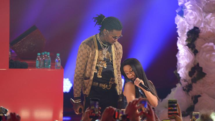 """Cardi B Confirms Secret Marriage To Offset: """"Just The Two"""