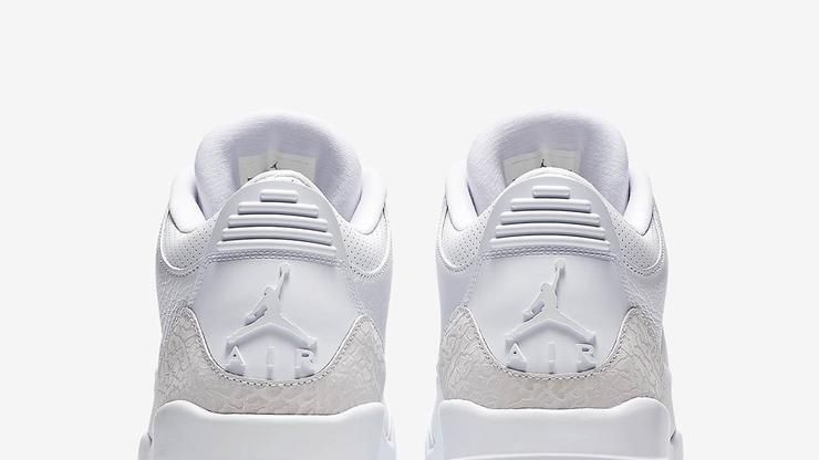 "bfca7179778f6f Air Jordan 3 ""Pure White"" Drops Tomorrow  Where To Purchase"