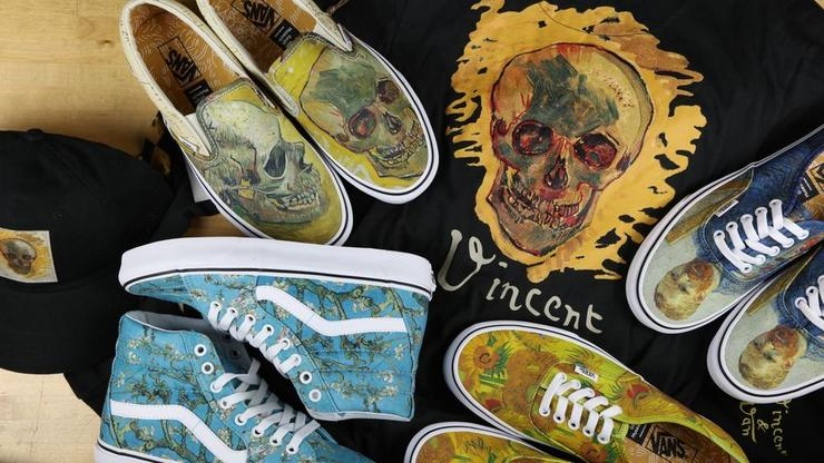 e07253796b Van Gogh x Vans Collection Now Available  Purchase Links