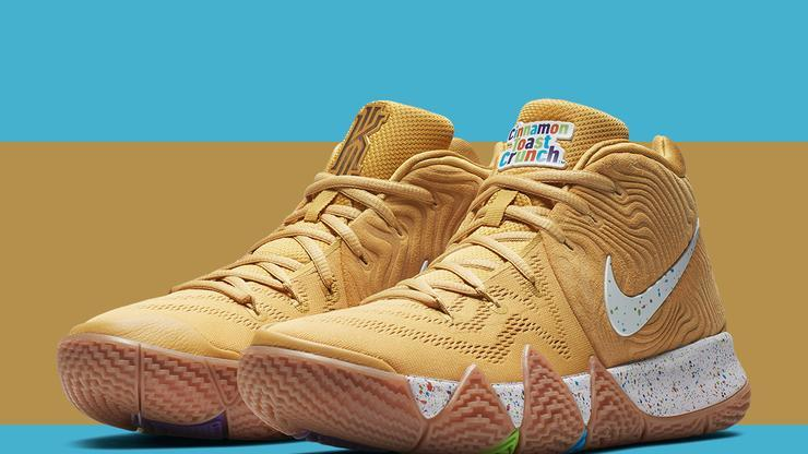 "2f06e05f10a8 Nike Kyrie 4 ""Cereal Pack"" New Release Details Announced"