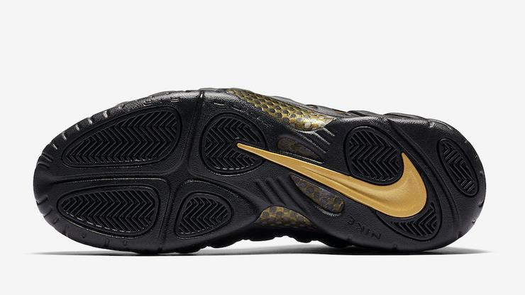 "sale retailer 4239d f5aa9 Nike Air Foamposite Pro ""Black Metallic Gold"" Gets November Release Date"