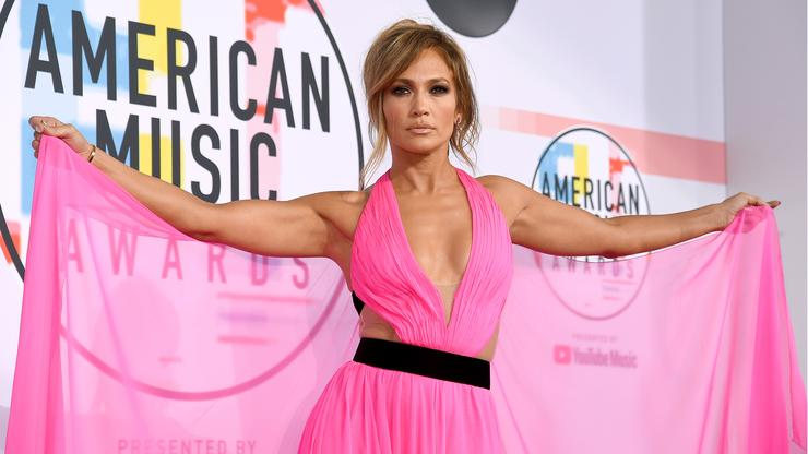 Thighs the limit: Jennifer Lopez goes nearly naked in