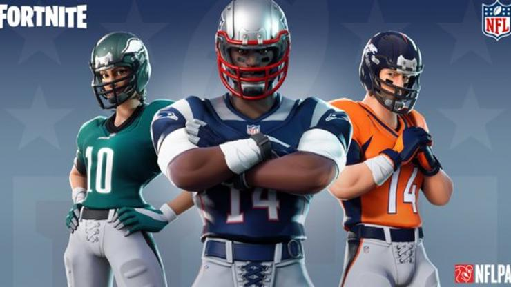 Fortnite x NFL Deal Allows Players To Add Uniforms, New Skins