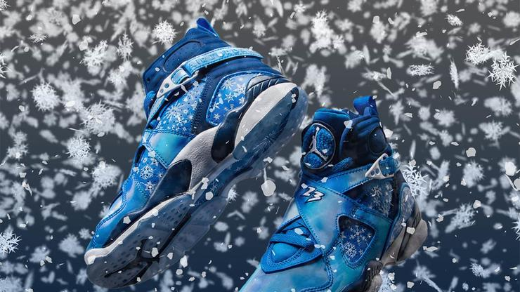 """new products 1c178 f5d58 Air Jordan 8 """"Snowflake"""" Release Details Announced"""