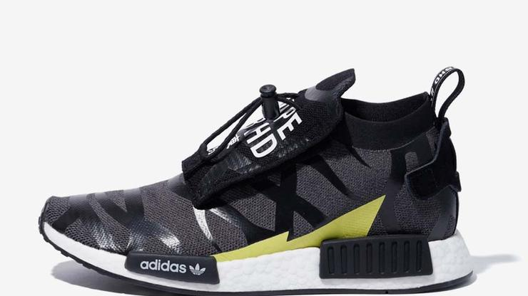 new style 5a3bf 7a57c BAPE X NEIGHBORHOOD X Adidas Shoes Dropping In January
