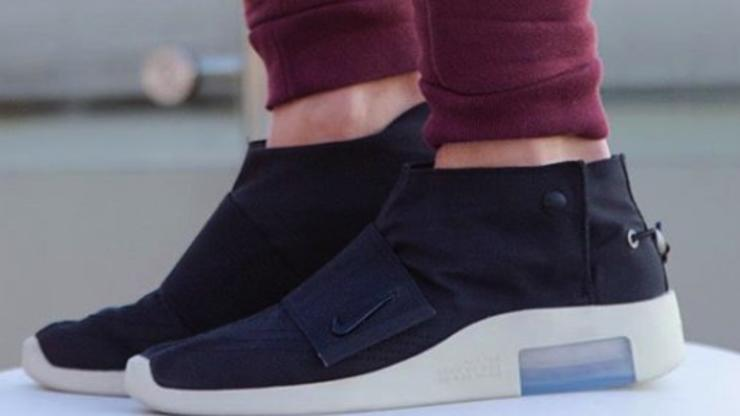 Nike Air Fear Of God Moccasin On-Foot