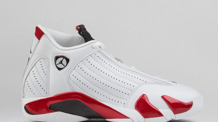 "6c08b0ac4aa Air Jordan 14 ""Candy Cane"" Rip Hamilton PE: New Images + Release Info"