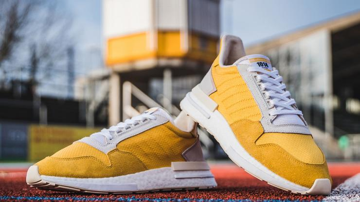 premium selection 26e8d 3460b Adidas ZX 500 RM Releasing In Yellow   White Colorway  Details