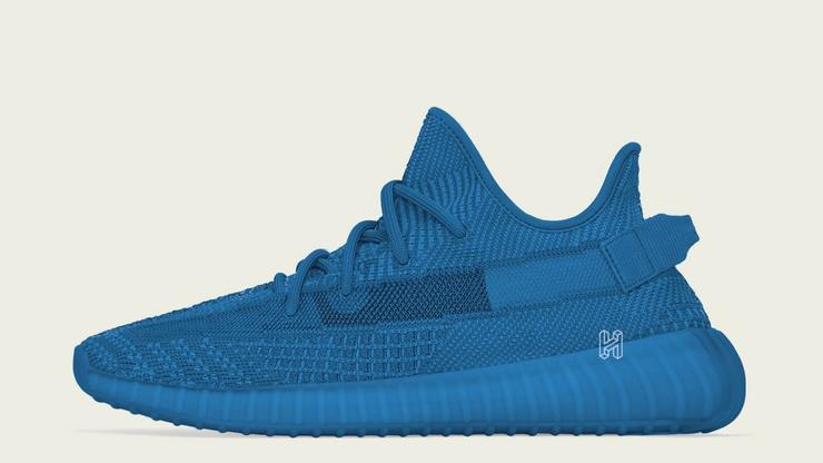 the latest aa887 17f7e Adidas Yeezy Boost 350 V2 Blue