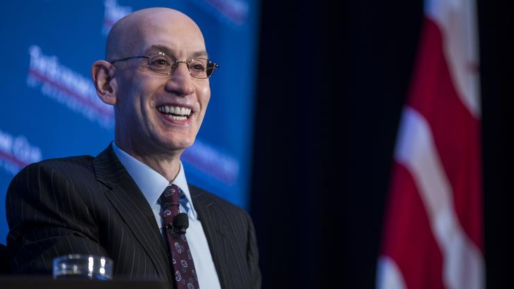 284a3dce5f07 Adam Silver Suggests That