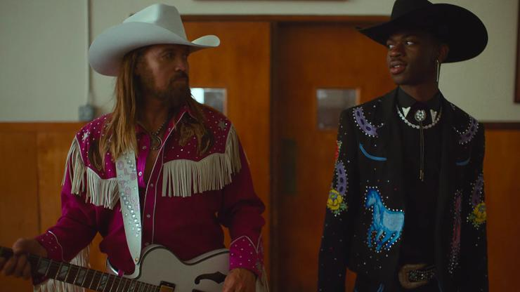 """Lil Nas X's """"Old Town Road"""" Music Video Is A Star-Studded"""
