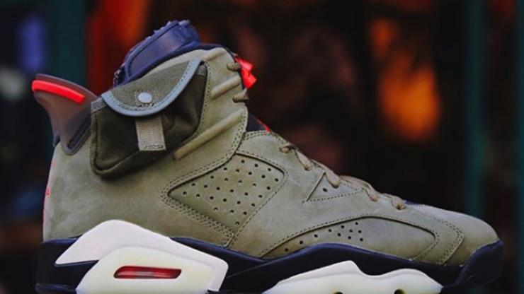outlet store 6174e dc4f3 Travis Scott x Air Jordan 6 Video Delivers Best Look Yet: Watch