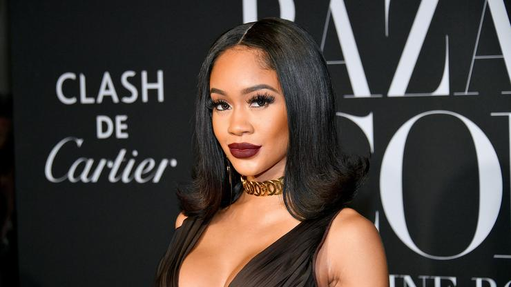 Saweetie Cuddles Up To Quavo In Light Of Her Pretty Little Thing Collection
