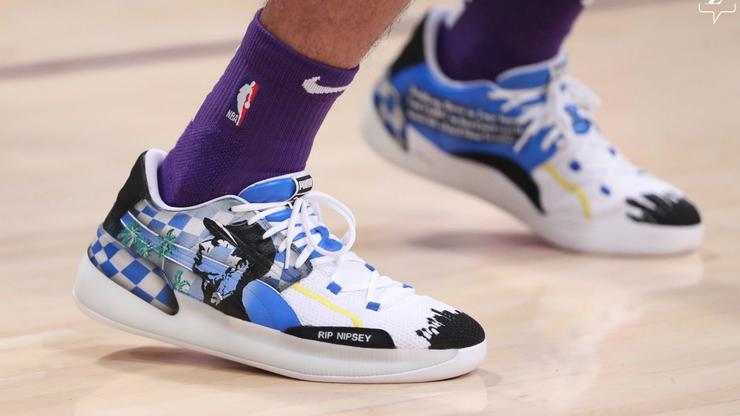 Lakers Danny Green Honors Nipsey Hussle With Special Puma Sneakers
