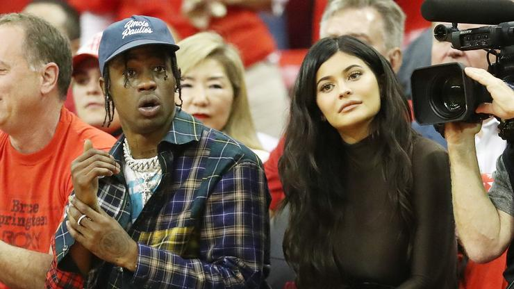 Travis Scott & Kylie Jenner Hit The Town In L.A. Together - HotNewHipHop