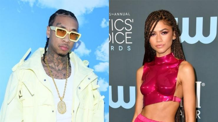 Tyga Shoots His Shot At Zendaya, Giving Kodak Black Some Competition - HotNewHipHop