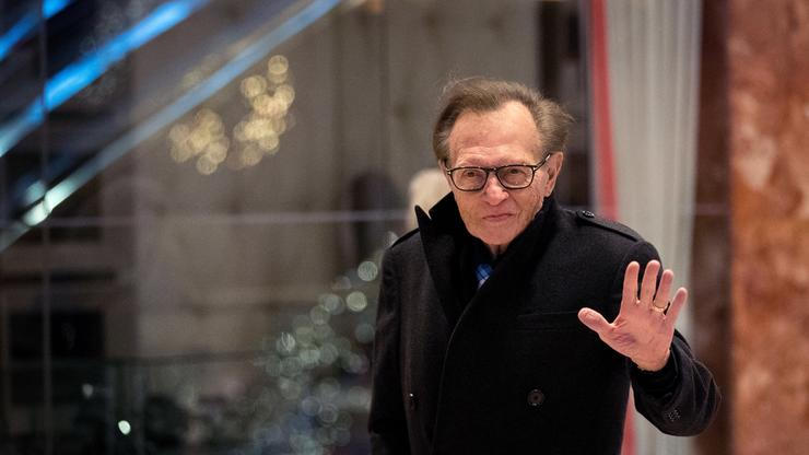 Larry King Confirms 2 Of His Children Died During Last 3 Weeks - HotNewHipHop