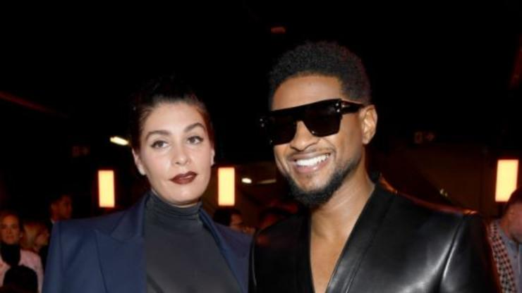 Usher & Girlfriend Jenn Goicoechea Expecting First Child Together: Report - HotNewHipHop