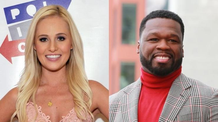 Tomi Lahren Declares Trump's Presidential Victory On 50 Cent's IG Post - HotNewHipHop