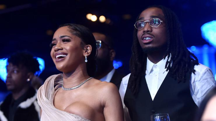 Saweetie Couldn't Stop Screaming After Quavo Gifted Her An Icy Bentley - HotNewHipHop