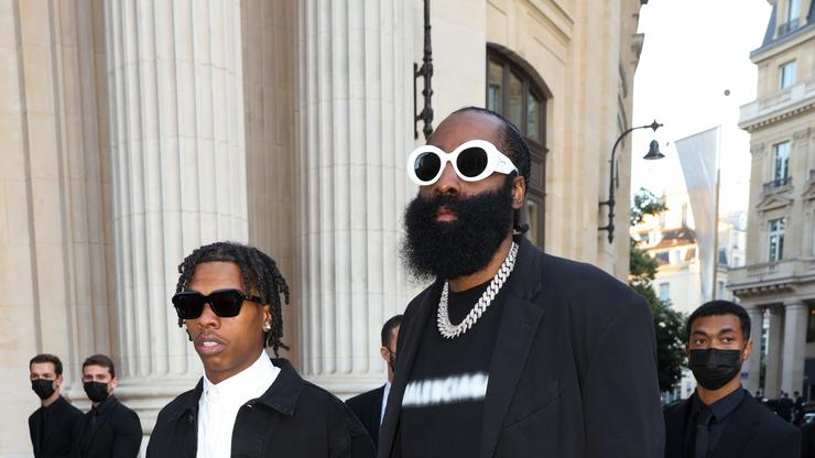 Lil Baby & James Harden Continue Their Bromance At Rolling Loud