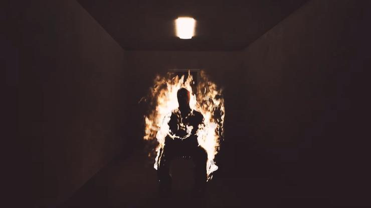 """Kanye West Drops Fiery Visual For """"Come To Life"""""""