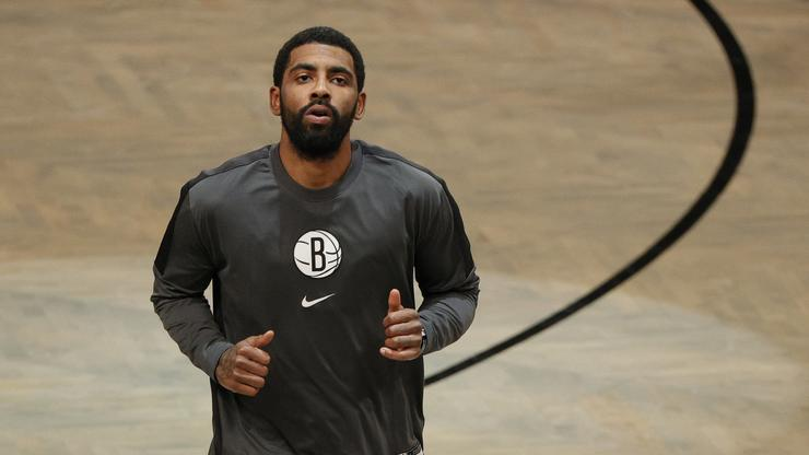 Kyrie Irving Participates In Public Workout With Nets In Brooklyn