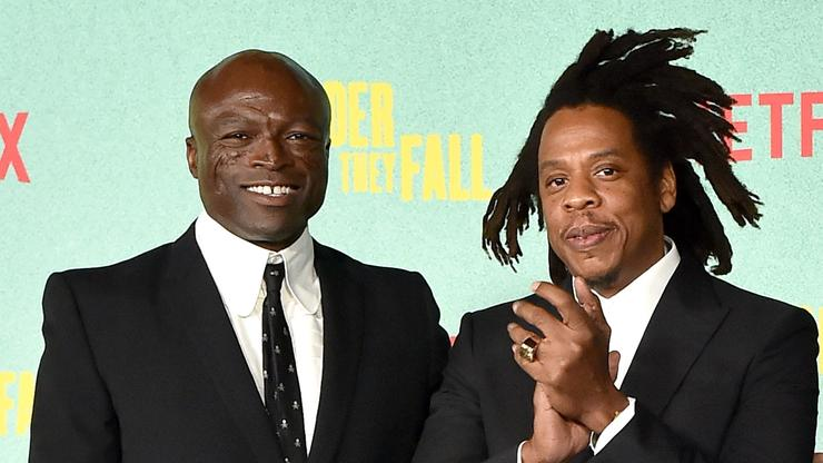 """Jay-Z & Seal Lead Throwback Jam Session At """"The Harder They Fall"""" Premiere"""