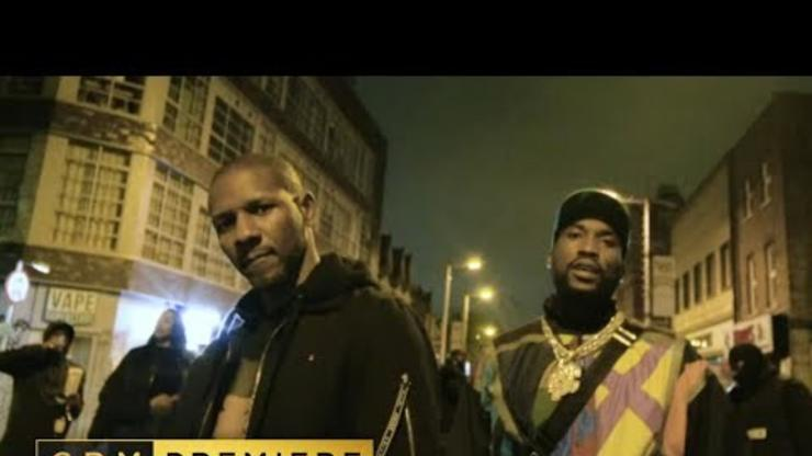 Meek Mill & Giggs Link Up In London For The Northside Southside Video
